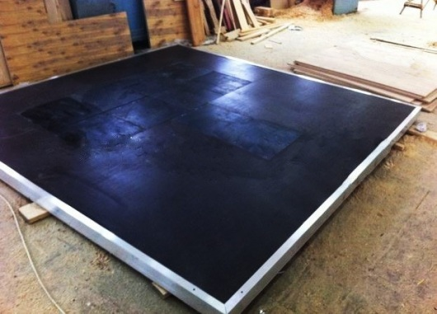 Соревновательный помост для пауэрлифтинга, 250х250х10 см