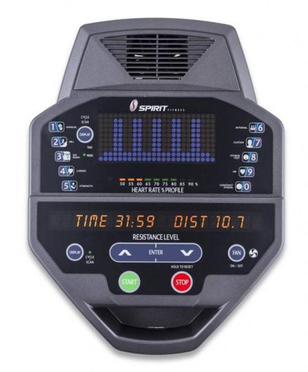 Hasttings эллиптический тренажер Spirit CE800
