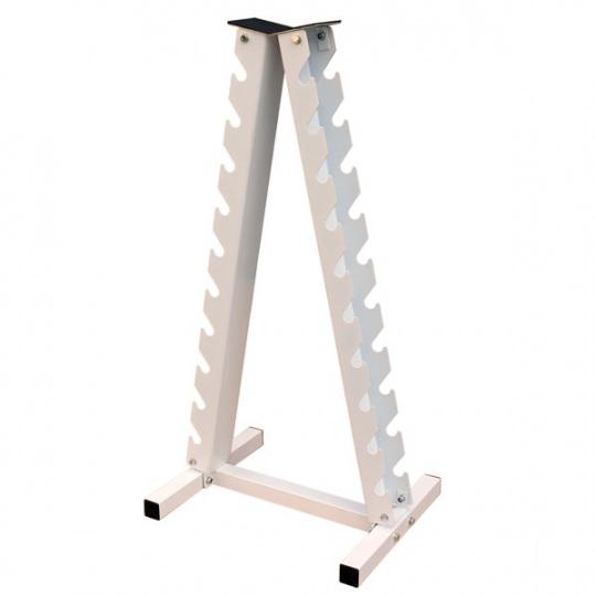Стойка для гантелей вертикальная (на 10 пар)