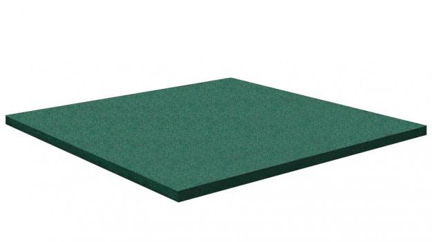 Резиновая плитка Rubblex Active 500x500x40 мм
