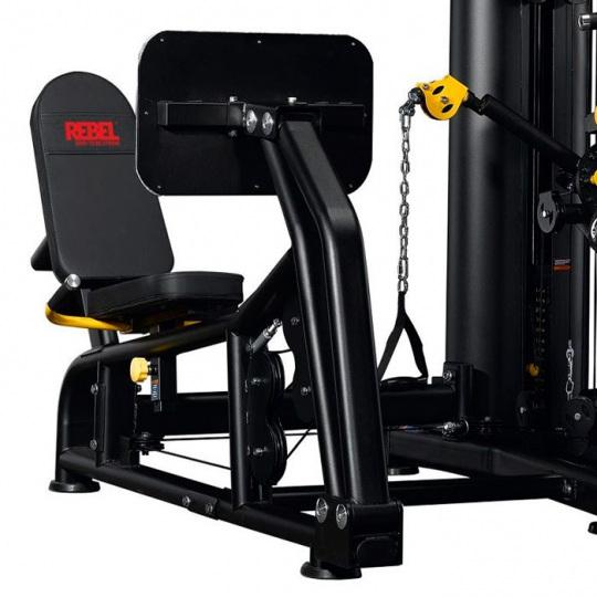 Многофункциональный тренажер с жимом ногами REBEL-G9LP