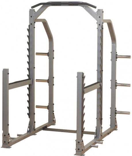 Многофункциональная силовая рама с турником для приседа и жима лежа Body Solid SMR1000