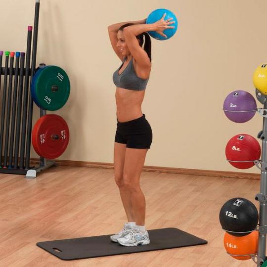 Тренировочный мяч 4,5 кг (10lb)