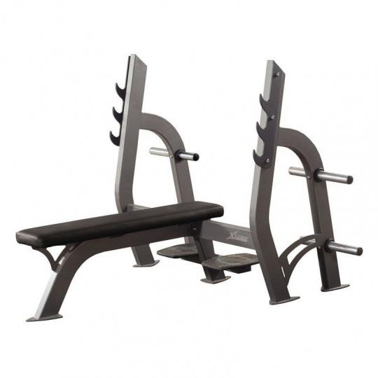 Скамейка для жима горизонтальная X-LINE Х304