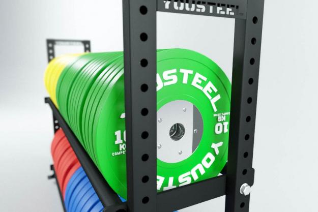Стеллаж модульный СТМ 1800-1200-диски YOUSTEEL