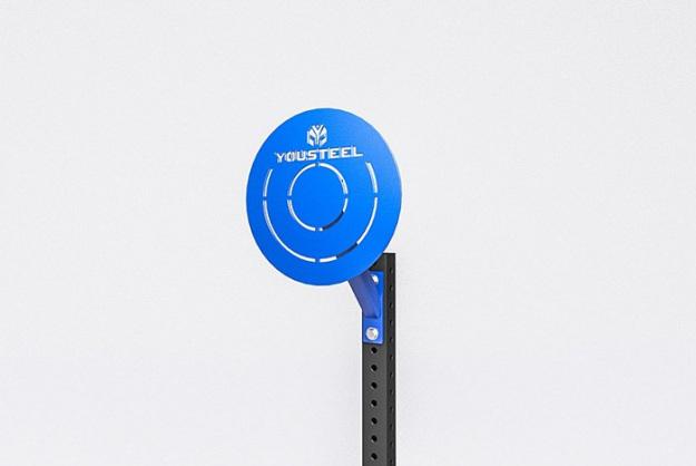 Мишень круглая сборная, синяя