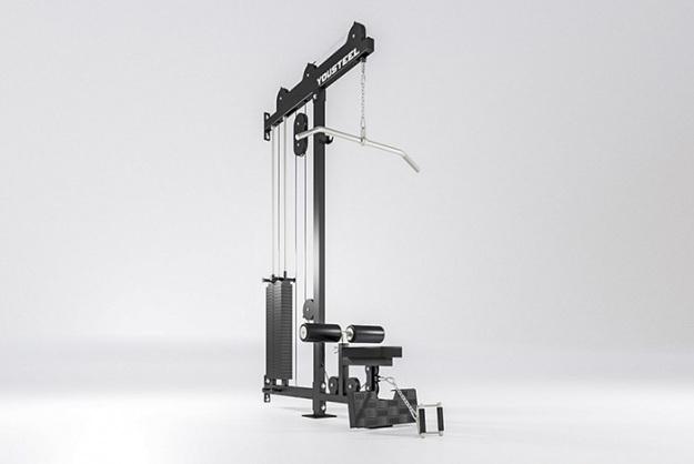 Верхняя и нижняя тяга (блочный тренажер)