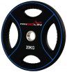 Диск олимпийский полиуретановый с 4-мя хватами 20 кг PANGOLIN WP012PU